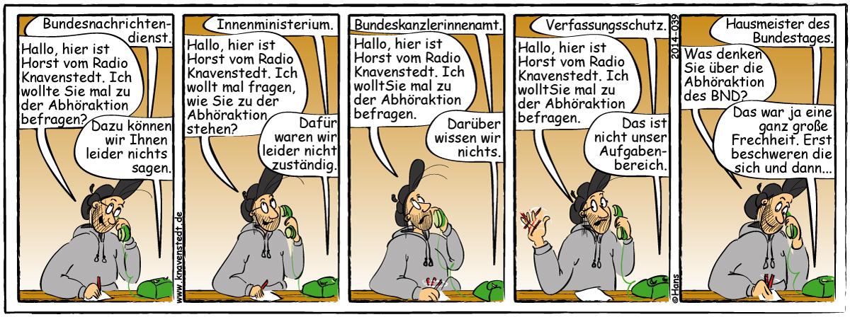 Knavenstedt, Comicstrips von Hans Schumacher, Thedinghausen