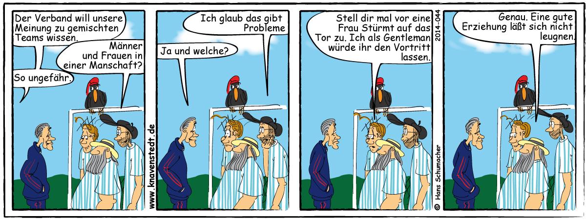 Sport, Comic, Landleben, Comicstrip, Bilder, Knavenstedt, Dorf, Knave, Schelm, Cartoon, Hans, Joggen